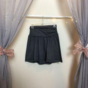 Xhilaration A-line XS striped skirt